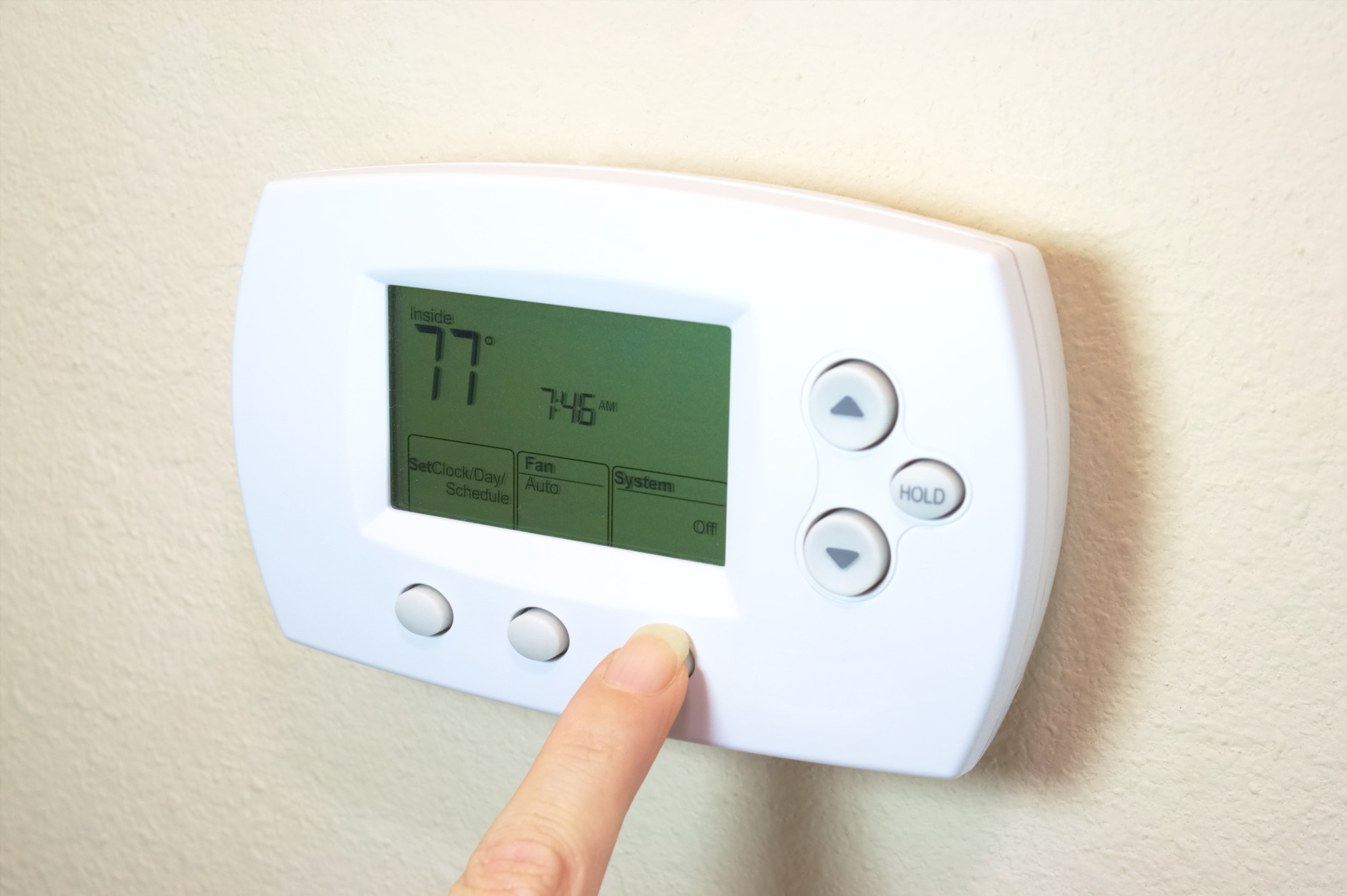 thermostat settings
